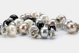 Canada Perle bouton brillant épingle vêtements aiguille bouton fixe 100 ensembles de foulard en soie mignon Broche accessoires aiguille bouton de plâtre des femmes Offre