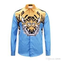 2019 судовая одежда Бесплатная доставка 2018 Италия новый Медуза рубашка мужская с длинными рукавами 3D печати высокое качество мужская мода Марка одежда Рубашки M-XXL скидка судовая одежда