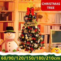 1.8m Noel ağacı paketi 2.1 m büyük sahne düzeni şifreleme ev vitrin 1,5 m Noel dekorasyon nereden filmler oyuncaklar çizgi film tedarikçiler