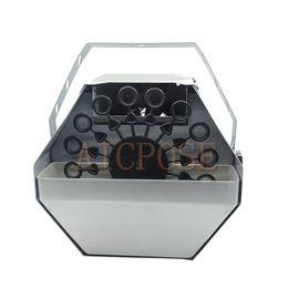 Argentina Mini máquina de burbujas de 60 vatios con control remoto y control por cable Equipos de efectos de etapa para casarse Entretenimiento Etapa Suministro