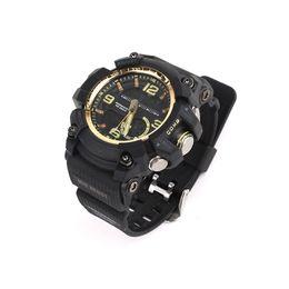 tiempo de espera del teléfono Rebajas Reloj deportivo digital de marca para hombre Reloj cronógrafo deportivo Resistencia a los golpes Masculino GG-1000 Relojes electrónicos casuales de calidad superior