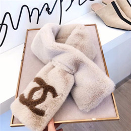 Neue Luxus-Qualität Super helles Kaninchenhaar Gewebe, die Qualität Stoff Textur, Kaninchenhaar Schal Größe für Männer und Frauen 90-13cm von Fabrikanten