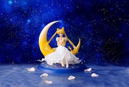 modelos de vestidos de desenhos animados Desconto 13 Centímetro Lua Mês Selvagem Lady Gaga Vestido De Noiva Figura de Ação Modelo de Brinquedo Dos Desenhos Animados Bens Y19062901