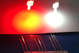 2019 3mm geführtes super helles weiß MIX OEM 10kinds Flat-Top Bicolor 2mm LED-Dioden-rot @ weiß rot @ blau rot @ grün rot @ gelbe Farbe