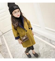 Argentina Otoño Invierno bebés Lana Mezclas niños chaqueta de abrigo Moda Adolescente Niños Adolescentes ropa de abrigo Suministro