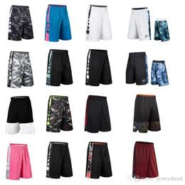 Sudores de baloncesto online-Pantalones cortos de baloncesto ELITE entrenamiento deportivo de élite, secado rápido, falta de aliento y sudoración, carreras sueltas, ejercicio de baloncesto, sobre la rodilla.