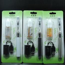 Canada CE4 atomiseur cigarette électronique Ego starter kit kit cig 650mah 900mah 1100mah batterie EGO-T blister Clearomizer E-cigarette Offre