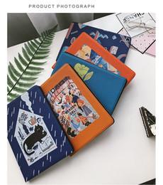 cat ipad cases Rebajas Funda de almohadilla pintada Premium Cartoon Cat para iPad Mini 2 3 4 Funda de cuero Funda de 9.7 pulgadas iPad Pro Air 2 Carcasa completa plegable
