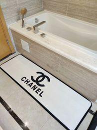 Kitchen Bathroom Bathtub Bedside Wash table carpet Home Kitchen Rugs Modern  Carpets Non-Slip backing Doormat Runner Mats 2 piece suit A10