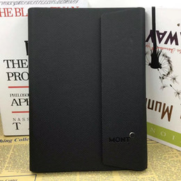 2019 notebook coreano bonito grosso Produtos de Papelaria Diário Pessoal Marca Alemanha Logotipo Notebook Agenda Preta Luxo Diário Escritório Suprimentos Notepads