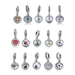 stick figures Coupons - Family Collection 925 Sterling Silver Stick Figure Charms include Mom Boy Girl Dog and Cat Fit European Pandora Style Bracelets & Necklace