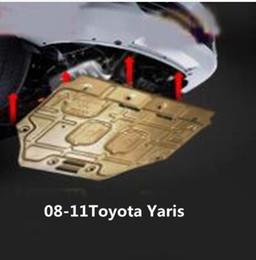 soleiras de porta peugeot Desconto Para Toyota Yaris Protetor Inferior do Motor Yaris Protetor Inferior para Chassi do Veículo