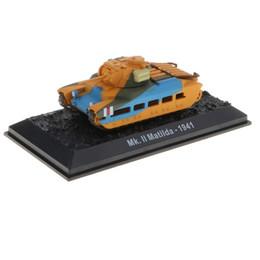 Wholesale 1 Britannique Combat Army Tank Modèle Diecast Mk II Matilda Jouets Éducatifs Cadeau D anniversaire pour Enfants Enfants Enfant