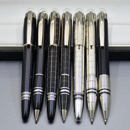 Оптовая цена Акция - Высокое качество Star-waiker Черная смола Ручка-роллер Шариковая ручка Перьевые ручки Luxury MB Школьные канцтовары от
