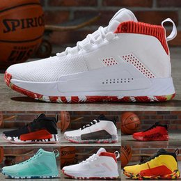 2019 damian lillard New damian lillard tênis de basquete dame 5 v todos os homens de skate 4 3 2 original designer sneaker tamanho 40-46 damian lillard barato