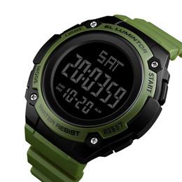 2020 einfache digitale sportuhr NEUE Mode Sportuhr Männer Einfache Digitale Wasserdichte Laufschnalle Armbanduhr Stoppuhr Rücklicht Chronograph Wecker rabatt einfache digitale sportuhr