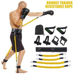 Canada Gym Accueil jambe Bande de taille Bouncing Force de formation du Nouveau et de haute qualité entraînement fintess exercice bandes Set 270x220x110mm Offre