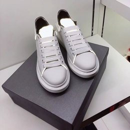f58d73f5c Discount strip shoes - Fashion Black Casual Shoes Men Leather Sneaker Women White  Casual Flat Shoes