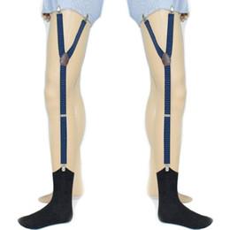 Yeni Varış Erkek Gömlek Kalır Tutucu Askı Ayarlanabilir Elastik Jartiyer Askı Çorap Kaymaz İç Aksesuar 2018 Moda Sıcak supplier underwear holder nereden iç çamaşırı tutacağı tedarikçiler