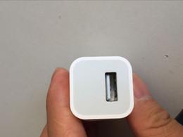 Adaptateur de voyage d'alimentation usb usb en Ligne-A1385 de qualité originale avec le logo US Plug USB AC chargeur mural chargeur de voyage adaptateur pour iphone 7 8 PLUS X XS XR XSmax sans boîte d'origine