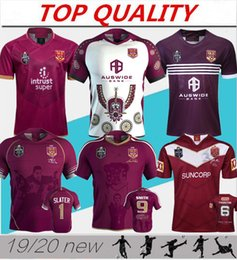 maroon shorts Coupons - 2019 2020 National Rugby League Queensland QLD Maroons Malou Rugby jersey 18 19 20 QLD MAROONS STATE OF ORIGIN Rugby jersey