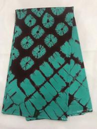 2019 nigeria real java wachsblock bedruckter stoff 6 yards für kostüm Hollandais 100% baumwolle afrikanische wachsdruckstoffe! OT-4142 von Fabrikanten