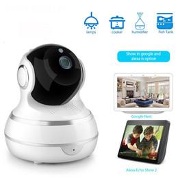 2019 auto lente íris câmera Câmera de rede sem fio 1080p Video Camera Intelligence Doodle Home Furnishing Wifi Camera