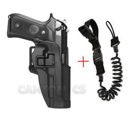 coldres para pistola Desconto Militar M9 Arma de Combate Cinto de Pistola Coldre Tático Airsoft Pistol Holster Para Beretta M9 92 96 Pistola