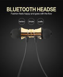 Cuffia avricolare del bluetooth del telefono delle cellule online-2019 OEM Bluetooth di alta qualità magnetica mani auricolare senza fili stereo libero Accessori neckband Auricolare cellulare elettronica