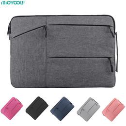 Computer portatile tablet hp online-Borsa per laptop per MacBook Air Pro Retina 11 12 13 14 15 Custodia per laptop 15.6 pollici Custodia per tablet PC Custodia per Xiaomi Air HP Dell