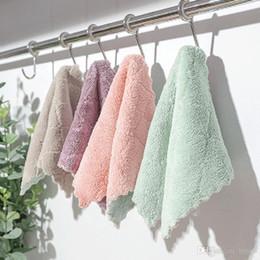 bastone per cellulare Sconti Commercio all'ingrosso antiaderente olio stracci pulizia della cucina asciugamano di lavaggio di alta qualità strofinaccio purga pad piatto panno di pulizia asciugamano piatto DH0604