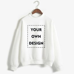 Custom Made Hoodies Women DIY Brand Logo Design Picture Sweatshirt  Customize Streetwear Clothing Harajuku DropShipping 8117904c3