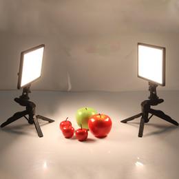 Suporte da câmera dobrável on-line-luz da câmera 2x Viltrox L116T Video Studio Camera LED Luz LCD Bi-Color Regulável + 2x Folding Handheld tripé para DSLR Foto