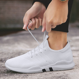 c3a66d07846 Hot 2018 spring Lightweight sneakers fashion Autumn famous brand Lace-up  Style Shoes Comfortable Casual Style Men adult Footwear