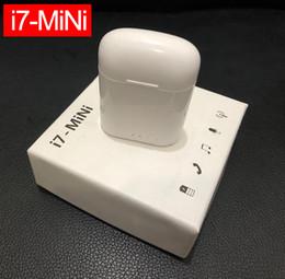 I7S Mini TWS Bluetooth 5.0 Écouteurs Écouteurs sans fil Écouteurs double avec boîte de chargement pour téléphone avec emballage de vente au détail ? partir de fabricateur