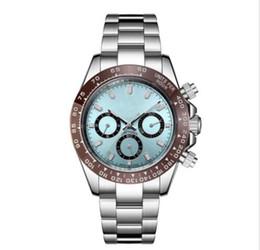 2020 relojes de talla RELOJES AUTOMÁTICOS PARA HOMBRE ACERO INOXIDABLE CRISTAL SAPPHIRE 42mm TAMAÑO ORO PLATA NEGRO RELOJ MAQUINARIA ENVÍO GRATIS relojes de talla baratos