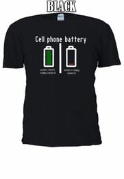telefono celular harajuku Rebajas Batería del teléfono celular Divertido Tumblr Camiseta Chaleco Tank Top Hombres Mujeres Unisex Harajuku Verano 2018 Camiseta Camisetas Jersey personalizado camiseta