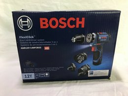 Caixa 12v on-line-Bosch GSR12V140FCB 12V Max FlexiClick 5-em-1 sistema de broca / driver (novo na caixa)