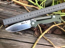 2019 nuevos cuchillos de supervivencia Nueva frío acero AD-15 plegable mango del cuchillo G10 S35VN cuchillo táctico al aire libre EDC herramienta de bolsillo de supervivencia acampar AD15 cuchillo 239 bm535 940 550 551 nuevos cuchillos de supervivencia baratos