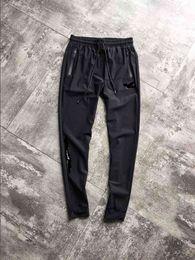 Pantaloni che lavorano uomini online-Pantaloni sportivi da uomo in jersey con pantaloni sportivi di colore grigio scuro