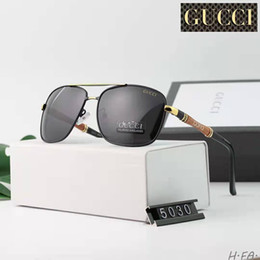 Lente de tamaño online-Diseño de marca protección uv negro len Gafas de sol Mujeres Gafas cuadradas de lujo Señoras 52mm tamaño gafas UV400 G15 LENS Eyewear para hombres