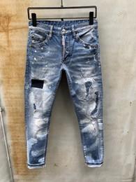 pantalones vaqueros modelos hombres Rebajas Nuevos pantalones vaqueros para hombre primavera otoño moda parche de alta calidad estilo Jeans ocio Denim Washed último modelo