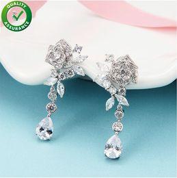 aros de boda Rebajas Pendientes de diseñador Joyas de diseño de lujo Pendientes para mujer Boho Hoop Tassel Diamond Stud Pendientes Declaración de moda Encantos de boda