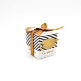 Graduierung süßigkeiten boxen online-100 teile / los DIY Kreative Zuckerdose Abschlussfeier Party Dekoration Lieferungen Doktor Hut Kappe Für Süßigkeiten Favor Boxen Geschenkverpackung Box