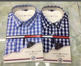 новый мужской дизайн Скидка Мужская мода Luxury Designer Классические рубашки 2019 марка бизнес повседневная рубашка мужская с длинным рукавом в полоску slim fit социальные мужские футболки medusa TY