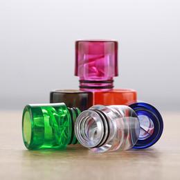 I vapori del dhl online-Colorful 810 spirale Drip Tip TFV8 Drip Tips per TFV12 Big Baby atomizzatori E Sigaretta Airflow Bocchino Vapes Tank DHL Free