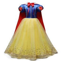 vestidos para adolescentes Desconto 2019 Menina Branca de Neve Vestido para Meninas Kid Prom congelar Princesa Vestido Crianças Presentes Do Bebê Intento Roupas de Festa Fantasia Adolescente Roupas