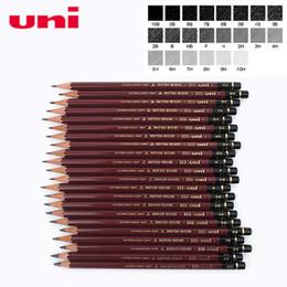 2019 oi padrões 6 Pçs / lote Mitsubishi Uni HI-UNI 22C Mais Avançado Desenho Lápis 22 Tipo de Dureza Padrão Lápis Escritório Material Escolar oi padrões barato