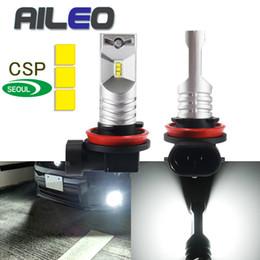 2019 seoul führte lichter AILEO H11 LED H8 führte Auto H16 H10 9145 beleuchtet 9005 12V hb3 Selbst9006 hb4 h9 Auto-Nebelscheinwerferbirnen CSP Y19 3600LM 24V