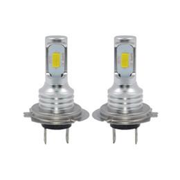 Ampoules menées de drl en Ligne-2PCS Super Bright H7 CSP 3570 CANBUS LED Ampoule Phare H1 H3 H8 H11 9005 9006 H10 HB3 / 4 880 881 Course Conduite Brouillard DRL Lampes 6000 K 12 V DC
